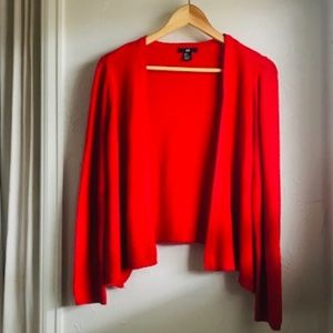 the perfect red sweater